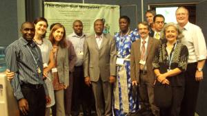Members of GBM's delegation at COP17