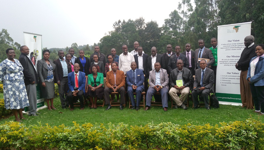 GBM, IEWM, Nandi County Government Officials, other Stakeholders in Kapsabet on June 18, 2018