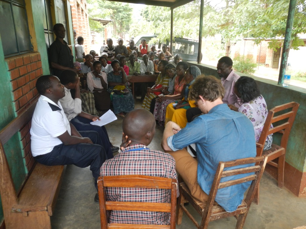 Needs Assessment workshop in session in Manafwa, Uganda