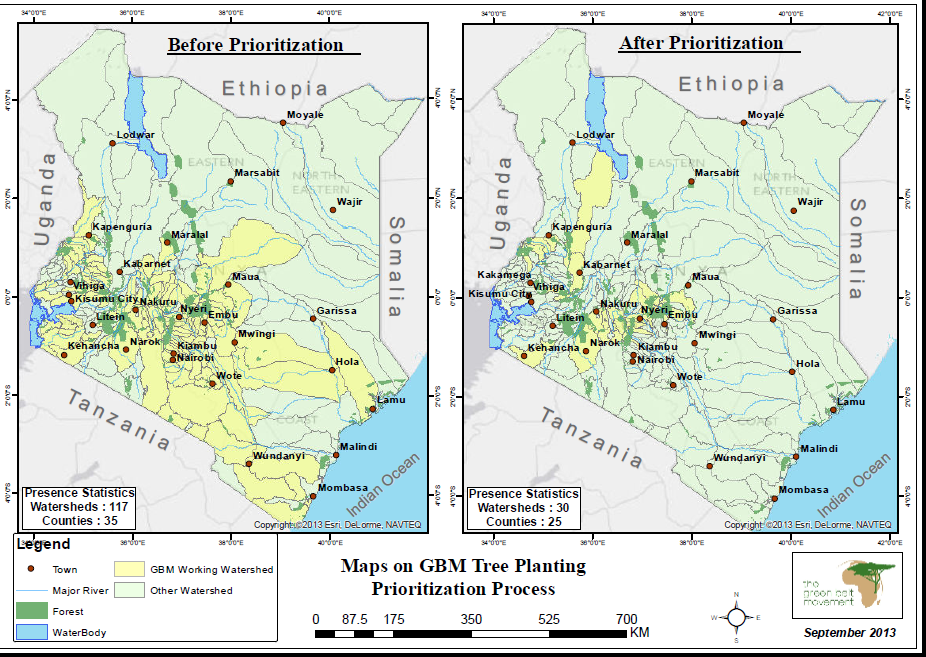 GBM's 30 priority watersheds for Rehabilitation